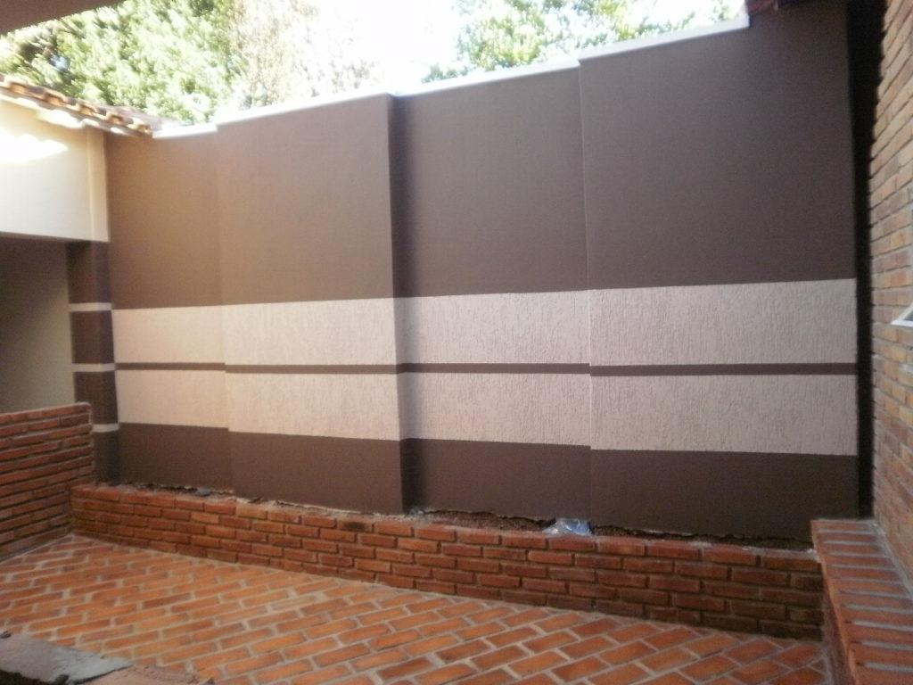 Grafiato muro interno