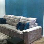 Efeito azul na sala
