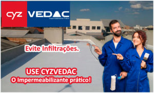 CYZ Vedac - O Impermeabilizante prático